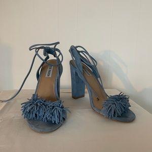 Steve Madden Powder Blue heels